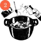 Рецепты шефов: Жаркое из бараньей лопатки с сухофруктами. Изображение № 5.
