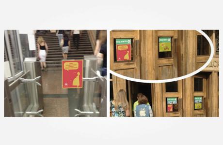 Студенты «Британки» придумали способы улучшить метро. Изображение № 4.