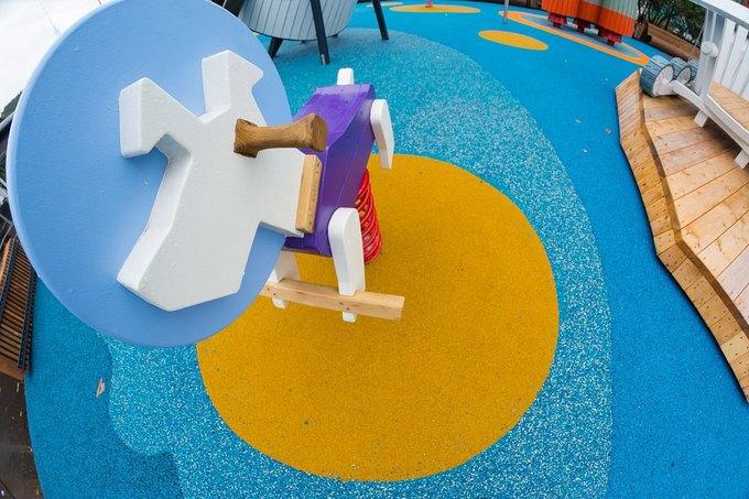 На ВДНХ открылась детская площадка смоделями космических кораблей. Изображение № 3.