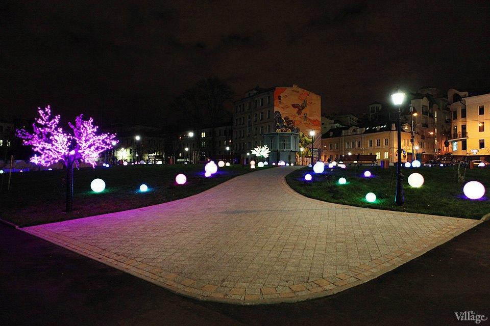 Фото ночи: Новый парк на«Трубной». Изображение № 3.