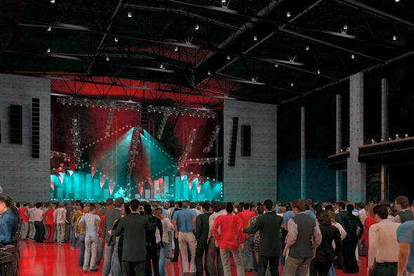 В Москве откроется новая концертная площадка на 8 тысяч зрителей. Изображение № 6.