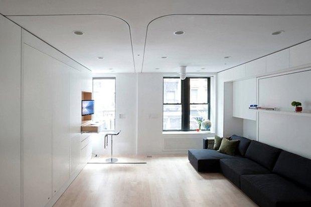 Как преобразить квартиру при помощи встроенной мебели. Изображение № 4.
