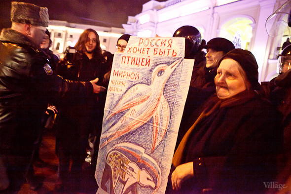 Хроника выборов: Нарушения, цифры и два стихийных митинга в Петербурге. Изображение № 39.