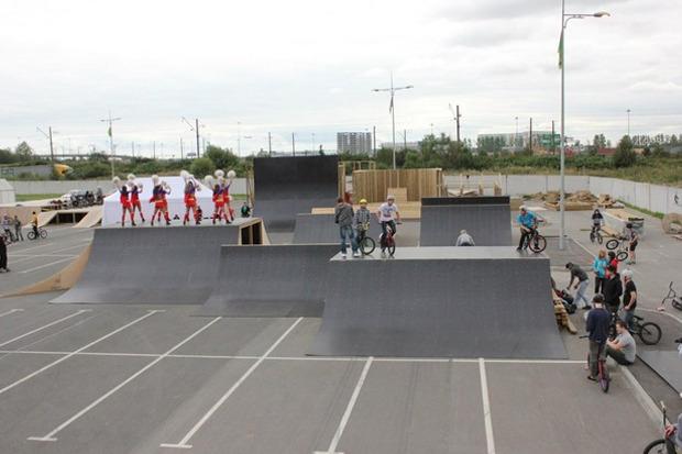 На Пулковском шоссе открылся один из крупнейших скейтпарков в России. Изображение № 2.