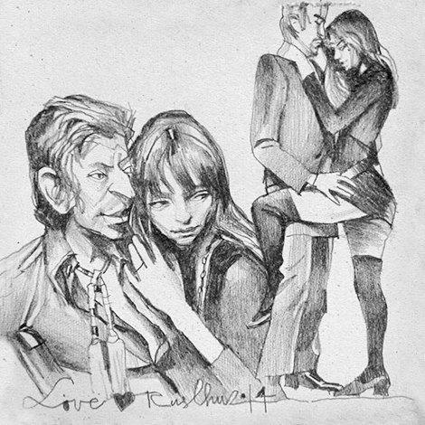Влюблённые пары на улицах Москвы. Изображение № 2.