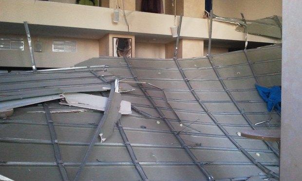 У театра «Буфф» рухнул потолок. Изображение № 4.