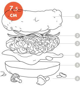 Между булок: Что внутри у самых больших московских бургеров, часть 2. Изображение № 2.