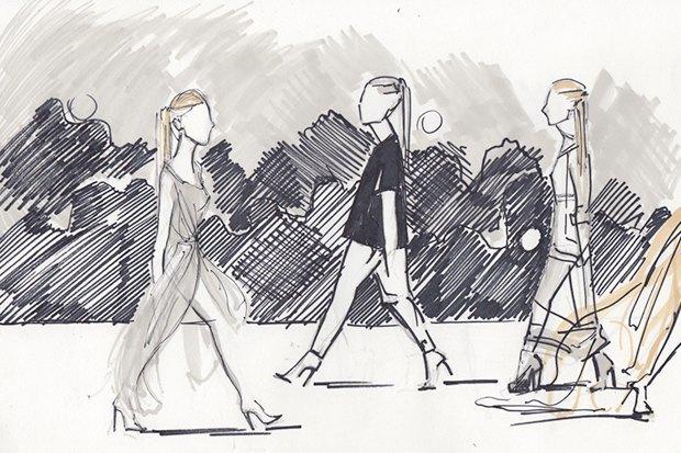 Клуб рисовальщиков: Показ мод. Изображение № 7.