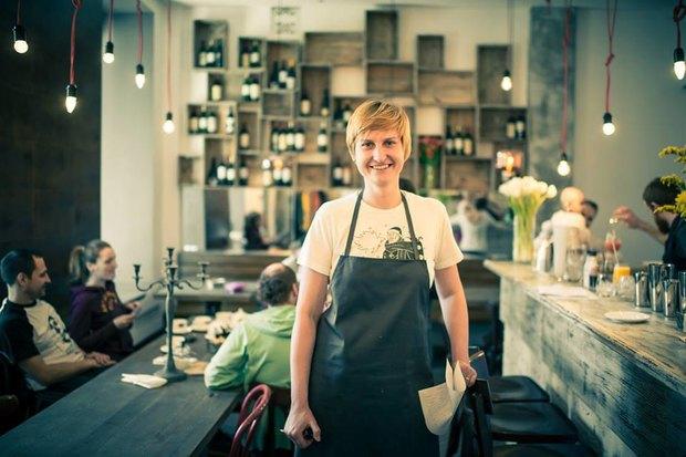 Управляющий партнёр и шеф-повар Moments Катя Плотникова. Изображение № 1.