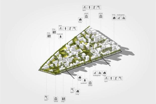 «Полуостров ЗИЛ» превратят в город в городе. Изображение № 6.