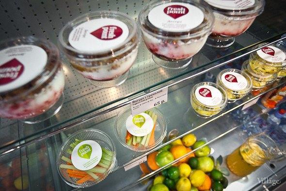 Кафе быстрого обслуживания FreshPoint открылось наЛиговскомпроспекте. Изображение № 1.
