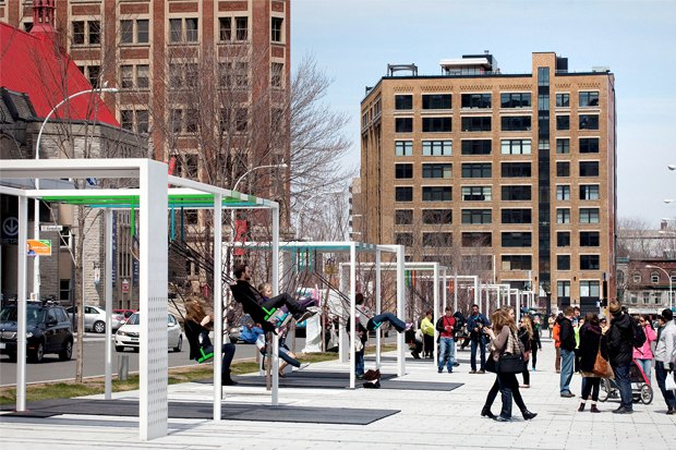 Идеи для города: Качели-оркестр в Монреале. Изображение № 4.