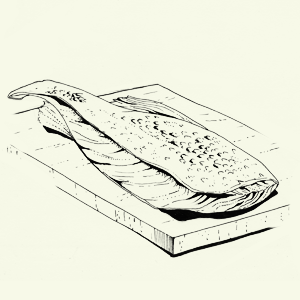 Брускетта избородинского хлеба спряной скумбрией Алексея Айзена. Изображение № 3.