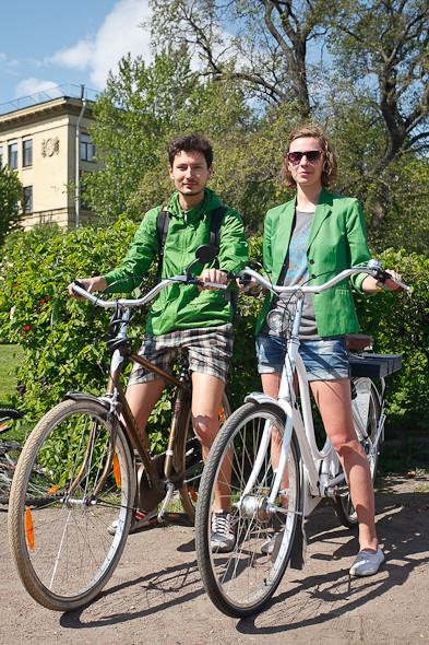 Участники пробега Let's bike it! о велодорожках. Изображение № 3.