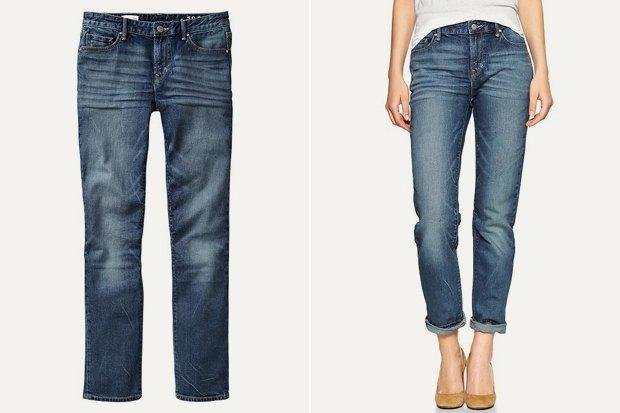Купить джинсы прямого кроя