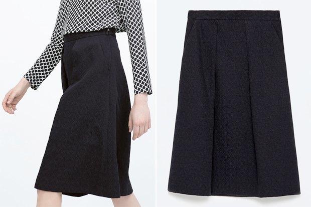 Где купить юбку миди: 6вариантов от 1000 до 4500рублей. Изображение № 3.