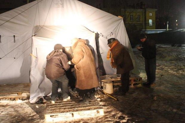 МЧС открывает пункты горячего питания для бездомных. Изображение № 3.