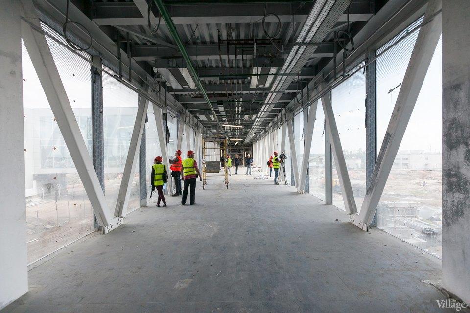 Фоторепортаж: Новый аэропорт изнутри. Изображение № 15.