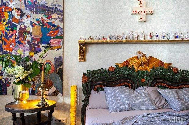 Как изголовье кровати может изменить внешний вид спальни. Изображение № 3.