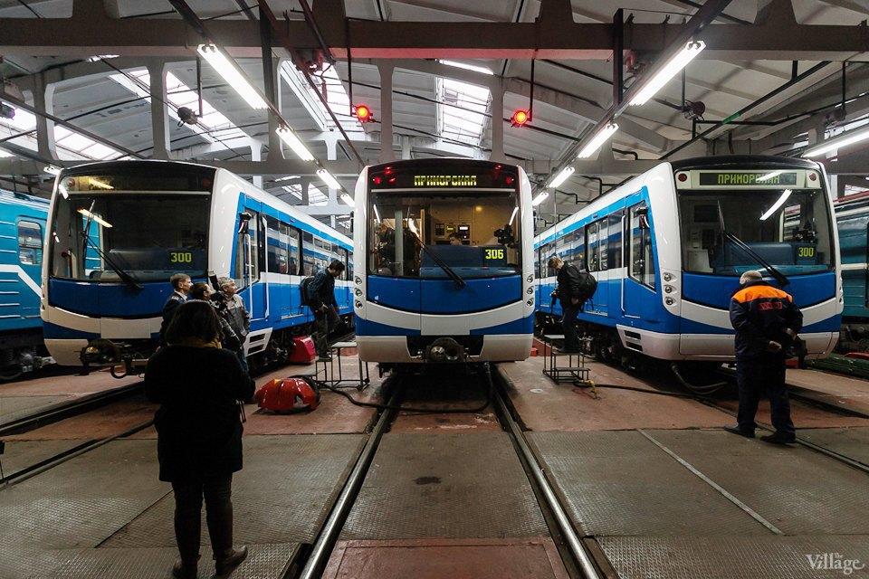 Фото дня: Бесшумный поезд Нева. Изображение № 10.