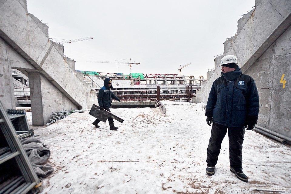 Фоторепортаж: Стадион «Зенит-Арена» изнутри. Изображение № 10.