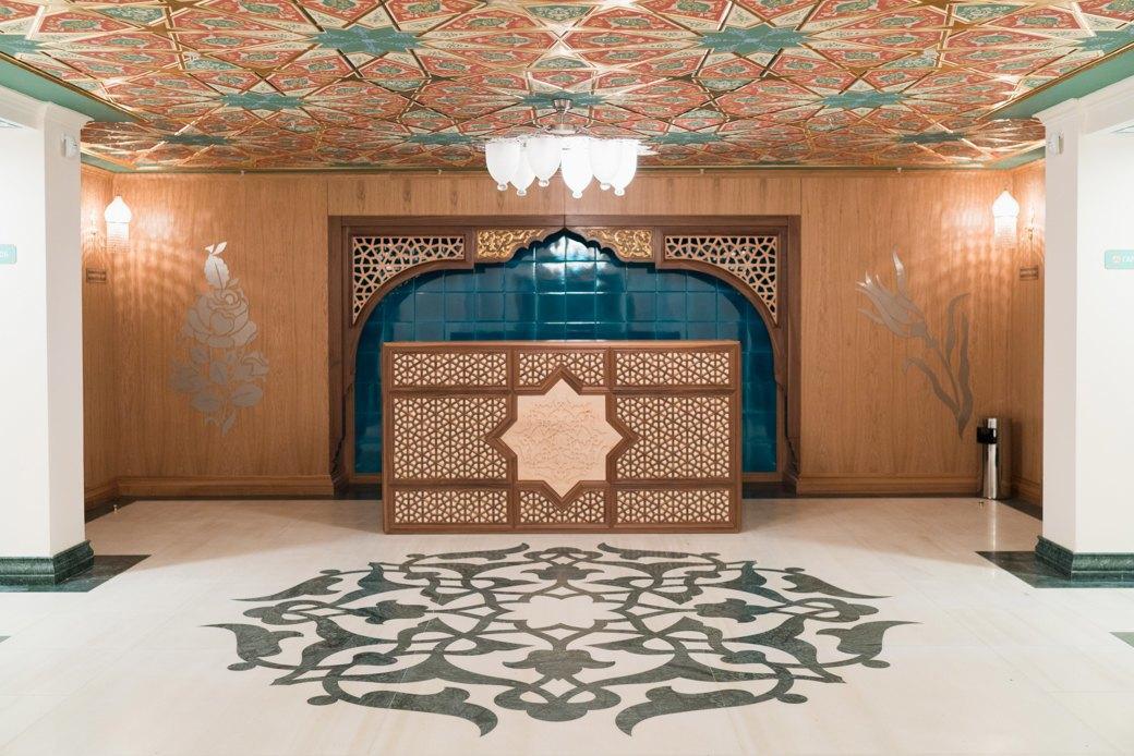 80-метровые минареты иместо для 10тысяч верующих — как выглядит Московская Соборная мечеть. Изображение № 21.