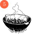 Рецепты шефов: Олхори долма (фаршированная слива). Изображение № 7.