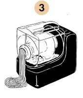 Рецепты шефов: Паста из «Бородинского» хлеба с хлопьями копченого судака. Изображение № 8.