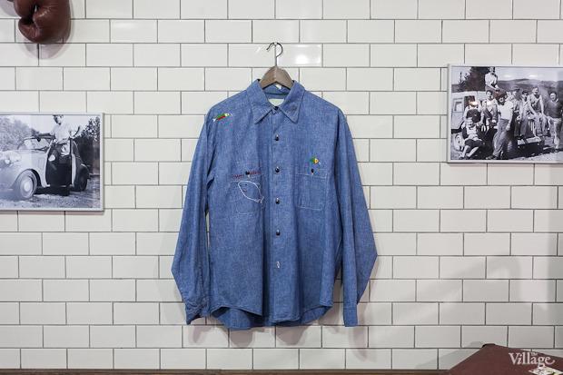 Винтажная рубашка — 2 300 рублей. Изображение № 27.