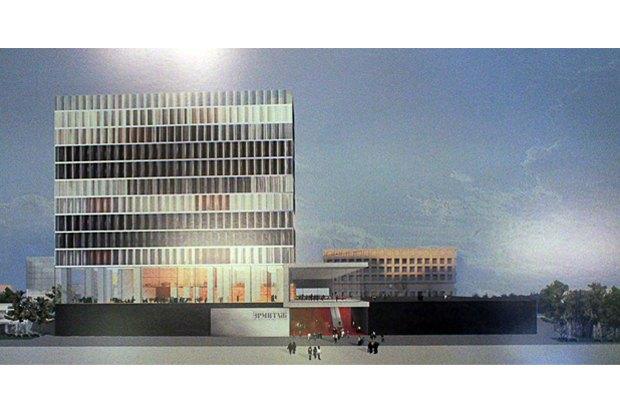Фондохранилище Эрмитажа построят по проекту Рема Колхаса. Изображение № 1.