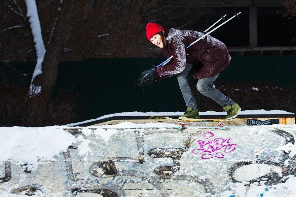 Люди в городе: Где катаются скейтеры зимой. Изображение № 1.