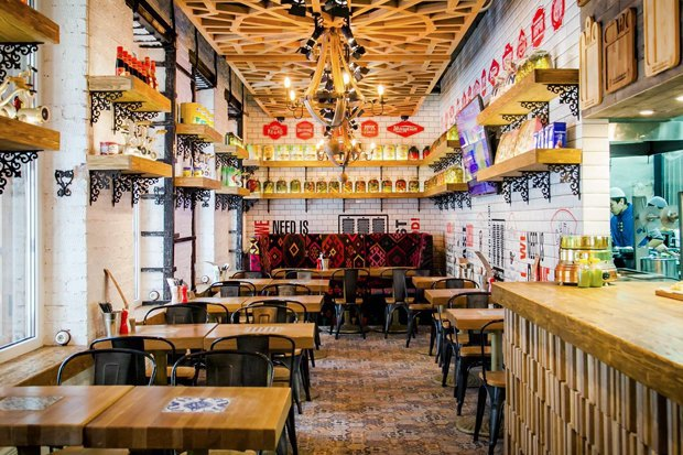 Вторая закусочная Grill &Gyros, кондитерская Katusha изавтраки от«Батона». Изображение № 4.
