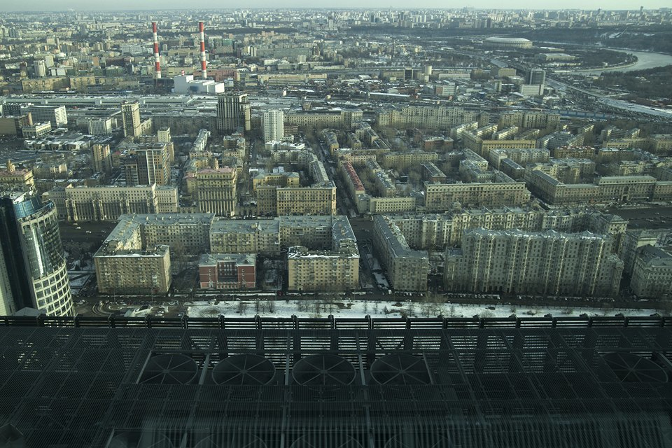 Смотровая площадка в«Москва-Сити». Изображение № 6.