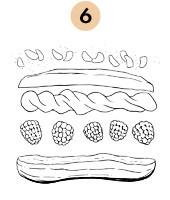 Рецепты шефов: Эклеры с малиной и взбитыми сливками. Изображение № 9.
