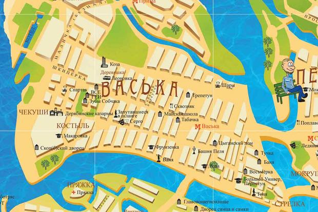 У Петербурга появилась неформальная карта. Изображение № 3.