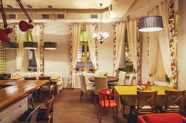 Команда кафе «Омлет» открыла новое заведение на Невском проспекте. Изображение № 1.