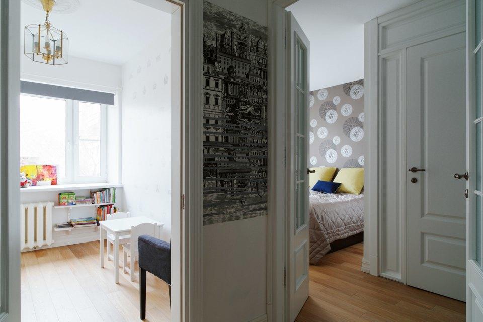 Трёхкомнатная квартира вГагаринском переулке. Изображение № 11.