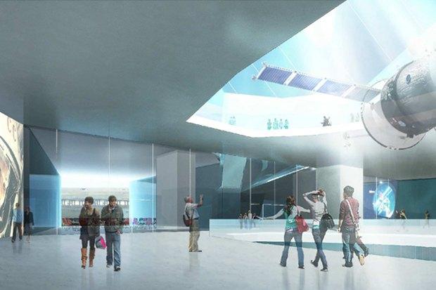 Представлены шесть проектов нового здания Политехнического музея. Изображение № 23.