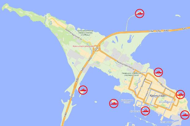 Возможные точки локализации яхтенных комплексов. Изображение № 24.