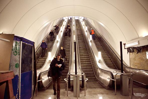 Фоторепортаж: Станция метро «Адмиралтейская» изнутри. Изображение № 6.