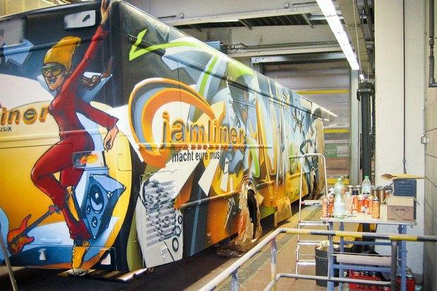 Как превратить городской автобус встудию звукозаписи . Изображение № 1.