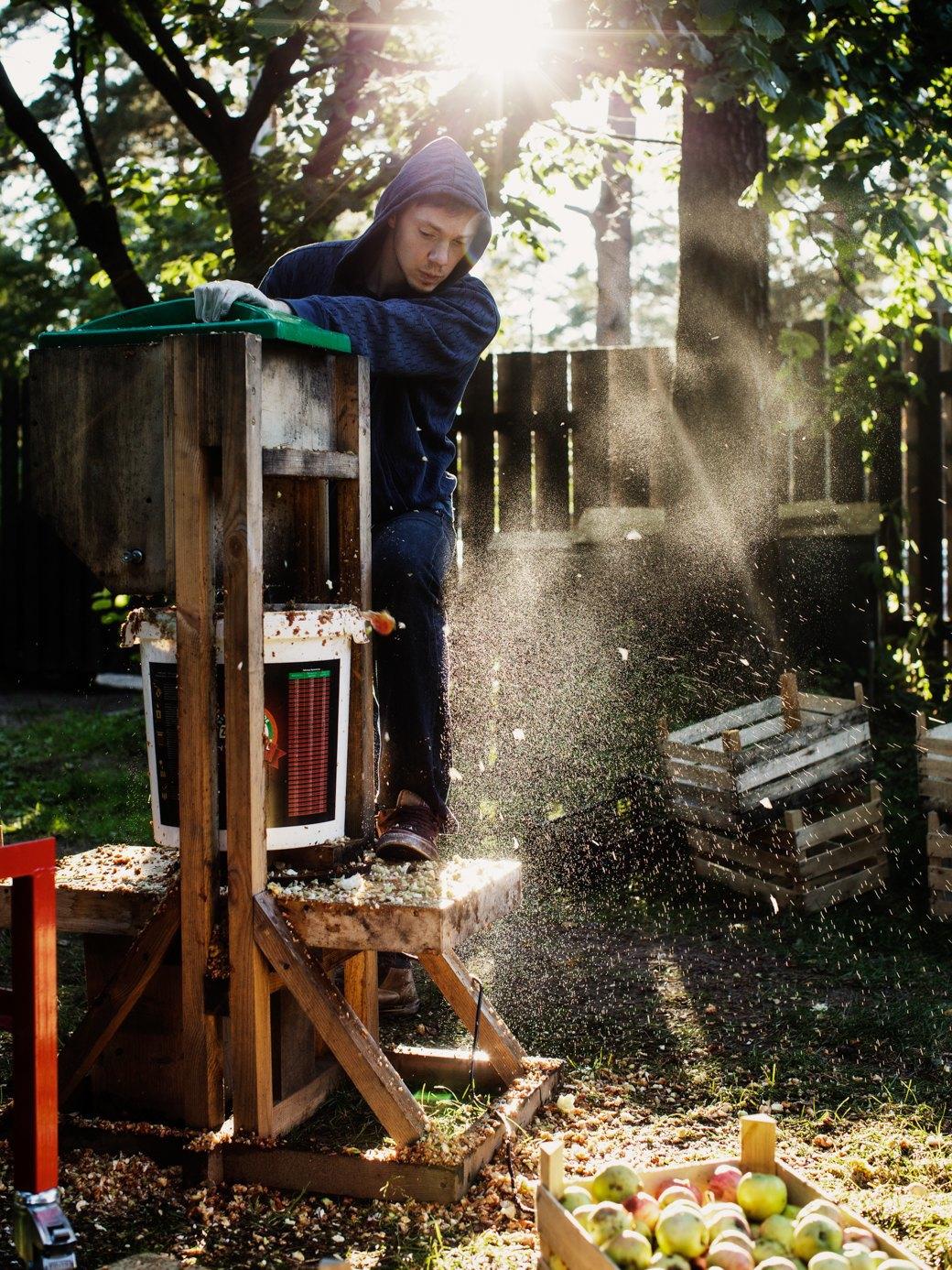 Партия «Яблоко»: Как организовать производство сидра на даче . Изображение № 8.