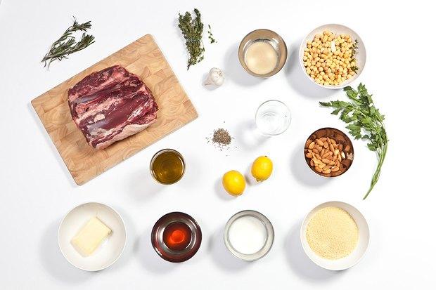 Шеф дома: Ягненок, хумус иоблепиховый десерт шефа «Стрелки». Изображение № 5.