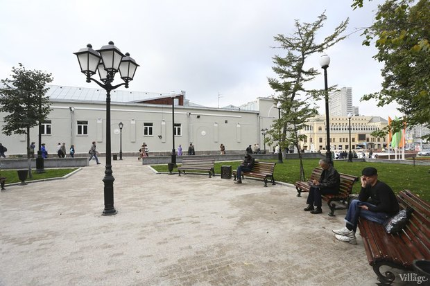 Фото дня: Как выглядит обновлённая Арбатская площадь. Изображение № 4.