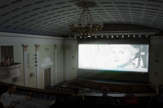 Каким будет кинотеатр «Художественный». Изображение № 3.