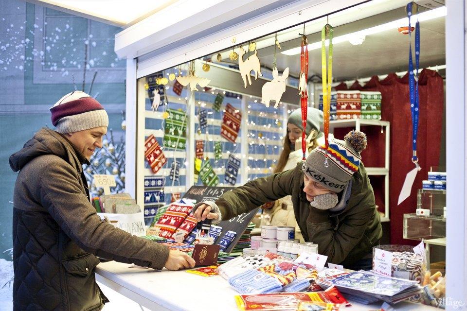 Фоторепортаж: Новогодние ярмарки в центре Москвы. Изображение № 12.