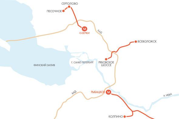 Классическая развязка: 7 транспортных решений Петербурга. Изображение № 22.
