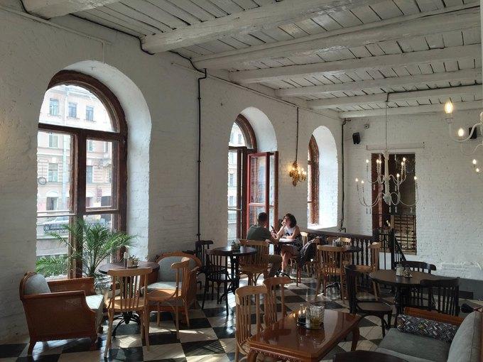Команда CoffeeRoom открыла ресторан Mickey&Monkeys науглу Гороховой иКазанской . Изображение № 2.