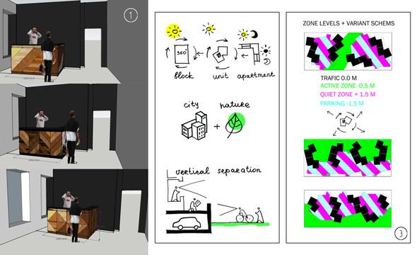 План и визуализация проекта экономичного загородного дома с возможностью модульного роста. . Изображение № 48.