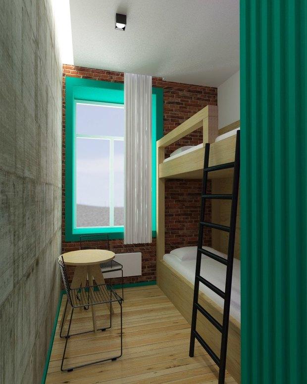 В кластере «Архитектор» открылся хостел. Изображение № 7.